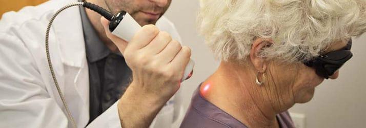 Chiropractor Winter Park FL Dr. Matthew Rumley Laser Therapy