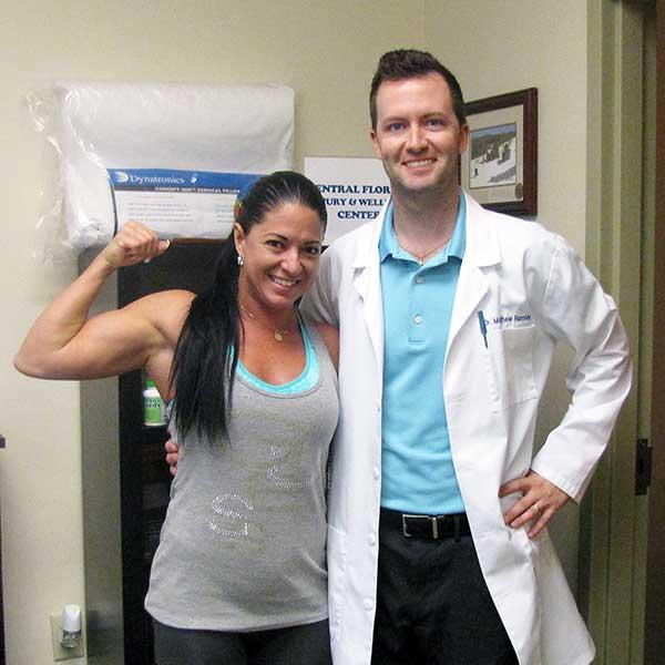 Chiropractor Winter Park FL Dr. Matthew Rumley and Patients